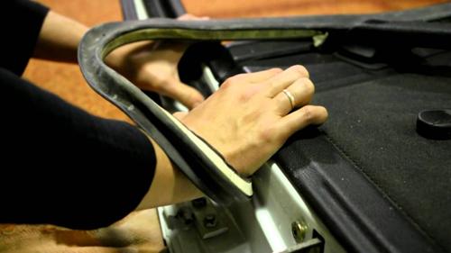 Замена уплотнительных резинок дверей автомобиля
